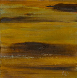 Sienna Sunrise Painting
